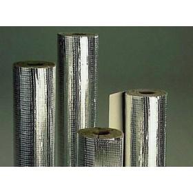 Cochilii din vata bazaltica caserate cu aluminiu Pipo ALS gr.40 mm-Ø219 mm