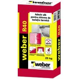 Adeziv alb lipire si spacluire Weber R40 MAX 2