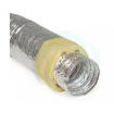 Tubulatura flexibila aluminiu izolata gr.152